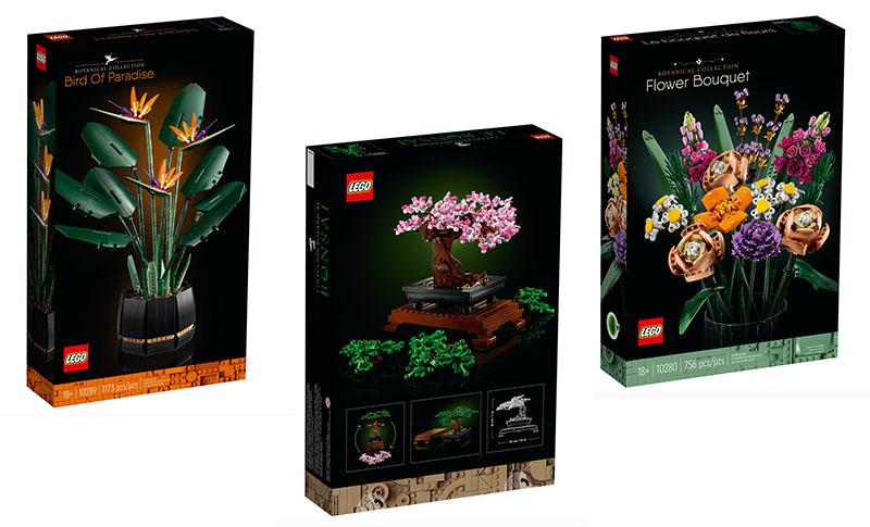 LEGO cvjetna kolekcija