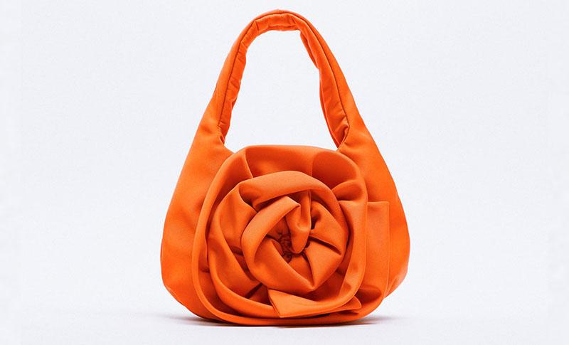 zara torbica narančasta