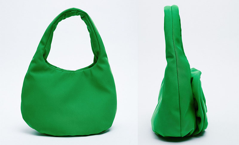 zara torbica zelena