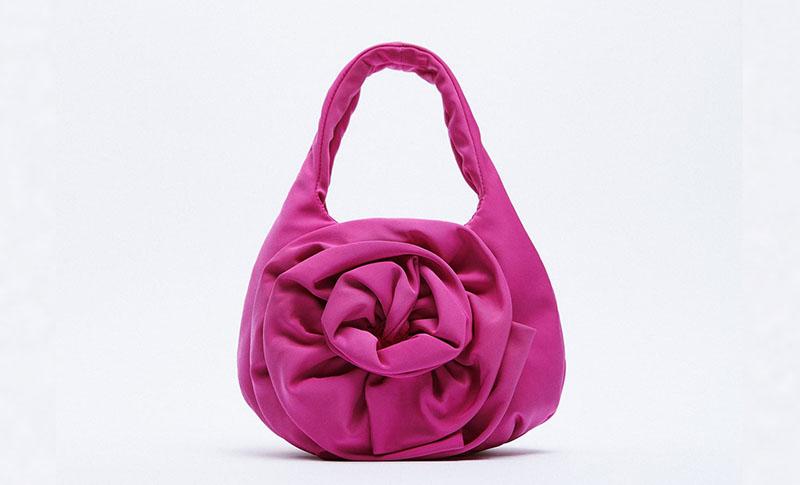 zara torbica roza